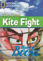 "книга + диск ""Great Kite Fight with Multi-ROM Level 2200 B2 (British english)"" - Waring Rob"