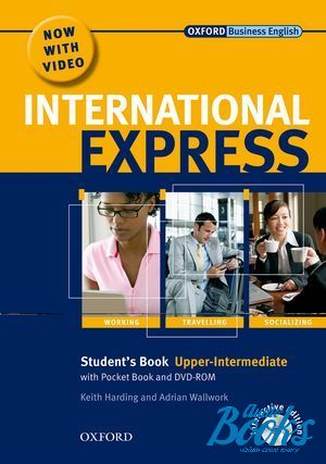 "книга + диск ""International Express Upper-Intermediate Interactive Edition: Student's Pack (Student's Book, Pocket Book and DVD) (учебник / підручник)"" - Angela Buckingham, Rachel Appleby, Keith Harding"