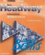 "книга ""New Headway Intermediate 3rd edition: Workbook with Key (тетрадь / зошит)"" - Liz Soars"