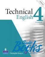 "книга + диск ""Technical English 4 Upper-Intermediate Workbook with key and CD (тетрадь / зошит)"" - David Bonamy"