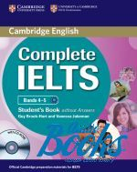 "книга + диск ""Complete IELTS Bands 4-5 Students Book without Answers"" - Брук-Харт"