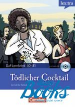 "книга + диск ""DaF-Krimis: Todlicher Cocktail A2/B1"" - Мэри-Клэр Лохек-Уидерс"