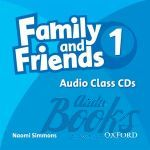 "диск ""Family and Friends 1 Class Audio CD"" - Jenny Quintana"