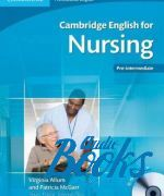 "книга + диск ""Cambridge English for Nursing Pre-intermediate Students Book with Audio CD"" - Virginia Allum"