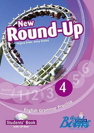 "книга + диск ""Round-Up 4 New Edition Student´s Book with CDROM Pack (учебник / підручник)"" - Jenny Dooley, Virginia Evans"