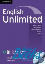"книга + диск ""English Unlimited Pre-Intermediate Teacher's Book with DVD-ROM (книга для учителя)"" - Ben Goldstein"