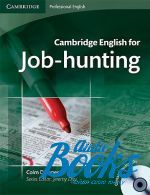 "книга + 2 диска ""Cambridge English for Job-hunting Students Book with Audio CDs (2)"" - Colm Downes"