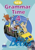 Sandy Jervis - Grammar Time 4 Student's Book with Multi-ROM (книга + диск)