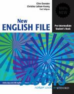 "книга ""New English File Pre-Intermediate: Students Book"" - Clive Oxenden"