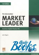 "книга + диск ""Market Leader Pre-Intermediate 3rd Edition  Practice File (тетрадь / зошит)"" - John Rogers"