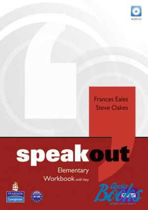 "книга + диск ""Speakout Elementary Workbook with key and Audio CD (тетрадь / зошит)"" - Frances Eales, JJ Wilson, Antonia Clare"