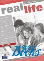 "книга + диск ""Real Life Pre-Intermediate, Test Book with Test Audio CD Pack"" - Sarah Cunningham"