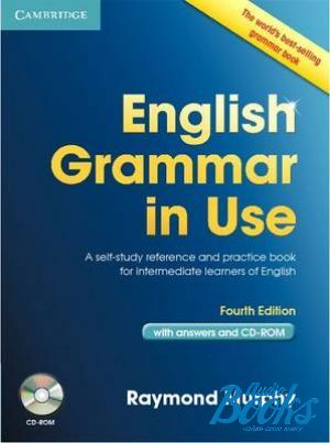 "Book + cd ""English Grammar in Use 4 edition Intermediate-Upper-Intermediate level Book with answers and CD-ROM"" - Raymond Murphy"