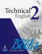 "книга + диск ""Technical English 2 Pre-Intermediate Workbook with key and CD (тетрадь / зошит)"" - Christopher Jacques"