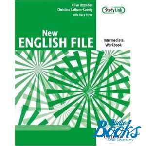 "книга ""New English File Intermediate: Workbook and MultiROM"" - Clive Oxenden"