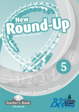 "Book + cd ""Round-Up 5 New Edition: Teacher's Book with Audio CD (книга для учителя)"" - Jenny Dooley, Virginia Evans"