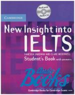 "книга + диск ""Insigts into IELTS NEW Students Book with answers & Audio CD"" - Vanessa Jakeman"