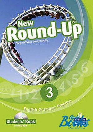 "Book + cd ""Round-Up 3 New Edition: Student's Book with CD (учебник / підручник)"" - Jenny Dooley, Virginia Evans"