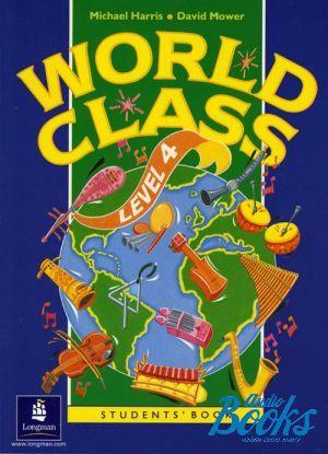 "книга ""World Class 4 Student´s Book"" - Michael Harris"