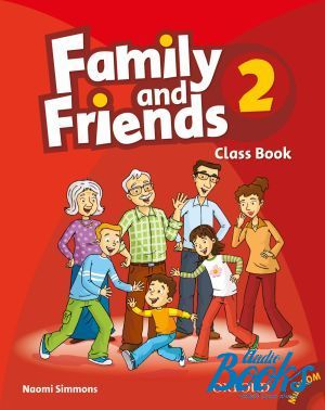 "����� + ���� ""Family and Friends 2 Classbook and MultiROM Pack (������� / ��������)"" - Naomi Simmons, Tamzin Thompson, Jenny Quintana"