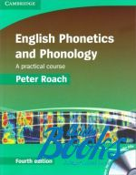 "книга + диск ""English Phonetics and Phonology A practical course with Audio CDs"" - Peter Roach"