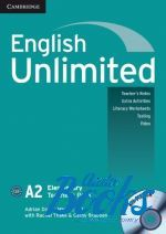 "книга + диск ""English Unlimited Elementary Teacher's Book with DVD-ROM (книга для учителя)"" - Theresa Clementson"