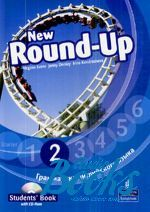"книга + диск ""Round-Up 2 New Edition: Student's Book with CD (учебник / підручник)"" - Jenny Dooley"