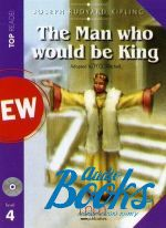 "книга + диск ""The man who would be king Book with CD Level 4 Pre-Intermediate"" - Kipling Rudyard"
