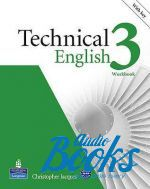 "книга + диск ""Technical English 3 Intermediate Workbook with key and CD (тетрадь / зошит)"" - David Bonamy"