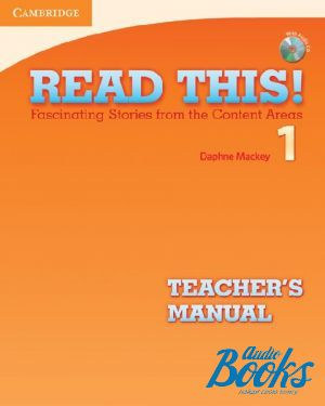 "книга + диск ""Read This! 1 Teachers Manual +CD"" - Daphne Mackey"