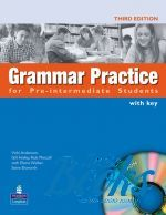 "книга + диск ""Grammar Practice Pre-Intermediate Book with CD-ROM and key"" - Вики Андерсон"