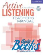 "����� + ���� ""Active Listening 1 Teachers Manual with Audio CD"" - Steven Brown"