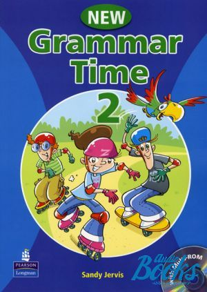 "книга + диск ""Grammar Time 2 Student´s Book with Multi-ROM"" - Sandy Jervis"