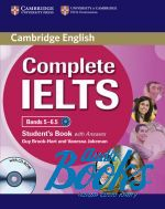 "книга + 2 диска ""Complete IELTS Bands 5-6.5 Students Pack Students Book with Answers"" - Брук-Харт"