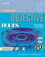 "книга + диск ""Objective IELTS Advanced Self-study Book with CD-ROM (учебник / підручник)"" - Annette Capel"