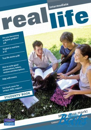 "The book ""Real Life Intermediate: Student's Book (учебник / підручник)"" - Peter Moor, Sarah Cunningham"