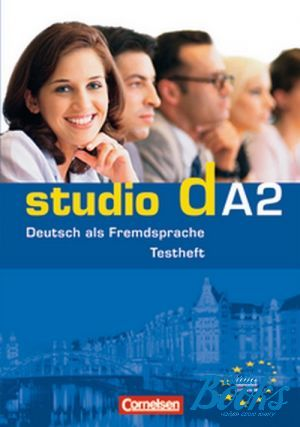 "книга + диск ""Studio d A2 Testvorbereitungsheft und Modelltest ""Start Deutsch 2"" - Ханнелоре Писториус"