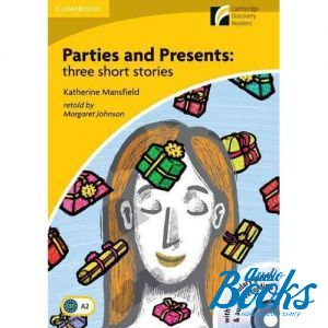 "книга + 2 диска ""CDR 2 Parties and Presents: three short stories: Book with CD-ROM/Audio CD"" - Cambridge ESOL"