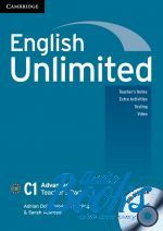 "книга + диск ""English Unlimited Advanced Teacher's Book with DVD-ROM (книга для учителя)"" - Ben Goldstein"