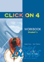"книга ""Click On 4 Intermediate level Workbook"" - Virginia Evans"
