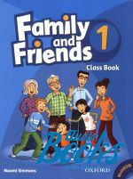 "книга + диск ""Family and Friends 1 Class Book Pack (учебник / підручник)"" - Jenny Quintana"