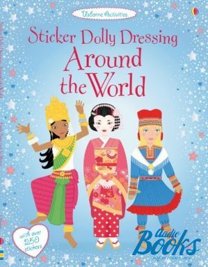 "The book ""Sticker Dolly Dressing: Around the World"" - Emily Bone"