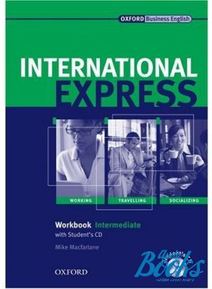 "книга + диск ""International Express Intermediate Interactive Edition Workbook Pack (тетрадь / зошит)"" - Rachel Appleby, Angela Buckingham, Keith Harding"