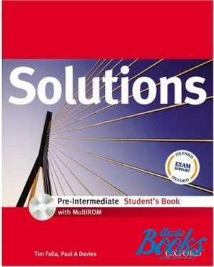 "книга + диск ""Solutions Pre-Intermediate: Students Book Pack (книга / підручник)"" - Tim Falla"