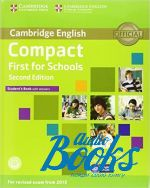 Emma Heyderman - Compact First for schools Second Edition: Student's Book with answers and CD-ROM (учебник / підручник) (книга + диск)