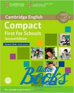 Emma Heyderman - Compact First for schools Second Edition: Student's Book without answers with CD-ROM (учебник / підручник) (книга + диск)