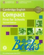 Emma Heyderman - Compact First for schools Second Edition: Workbook with answers and Audio CD (тетрадь / зошит) (книга + диск)