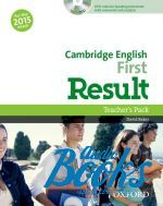 David Baker - Cambridge English First Result Teacher's Book with DVD-ROM (книга + диск)