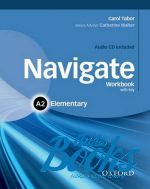 Catherine Walter - Navigate Elementary A2 Workbook with Key and Audio CD (книга + диск)