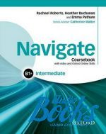 "книга + диск ""Navigate Intermediate B1+ Coursebook with DVD-ROM and OOSP"" - Catherine Walter"